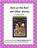 Rats on the Roof and Other Stories Comprehension Pack tied
