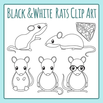 Rats or Mice Clip Art Pack for Commercial Use