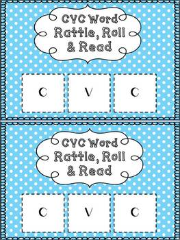 Rattle, Roll & Read: Free CVC Literacy Center