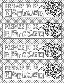 Rattlers School Mascot Set