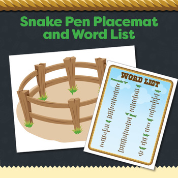 Rattlesnake Roundup Articulation Game Bundle for Later Developing Sounds