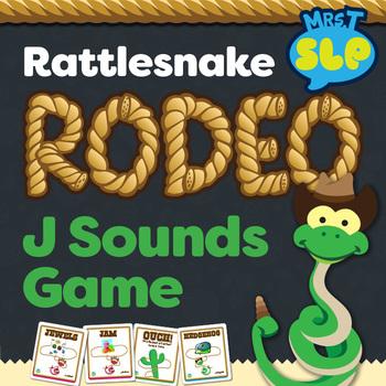 """Rattlesnake Roundup """"J"""" sound Game Freebie"""