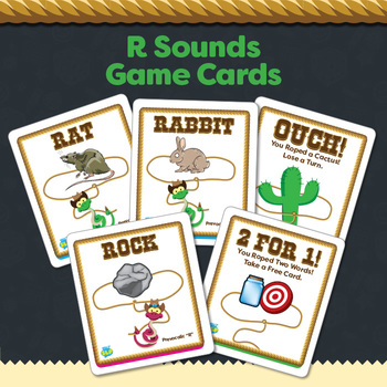 """Rattlesnake Roundup """"R"""" Sounds Game (including vocalic R)"""