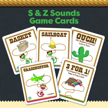 "Rattlesnake Roundup ""S"" and ""Z"" Sounds Game"