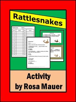 Rattlesnakes Task Cards
