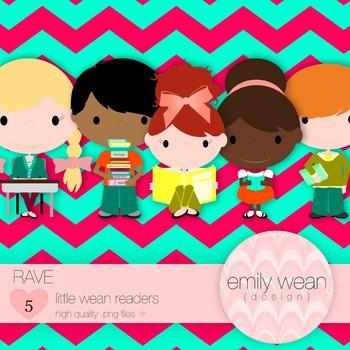 Rave - Little Readers Clip Art