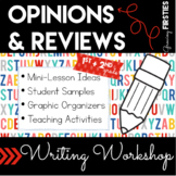 Opinion and Review Writing - Writing Workshop Genre Unit of Study