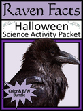 Raven Facts Halloween Science Activity Packet
