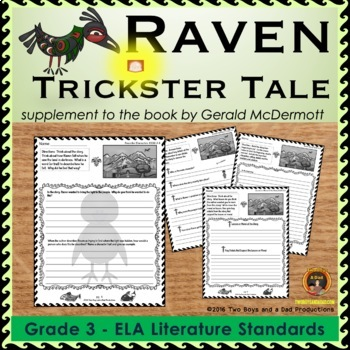 Raven Trickster Tale Literature Standards Support Pages