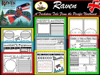 Raven: A Trickster Tale from the Pacific Northwest Novel Study