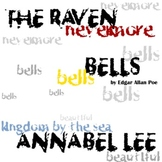 Raven, Annabel Lee, Bells, and 9 other poems by Edgar Allan Poe