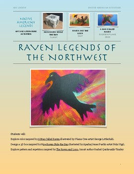 Raven Legends of the Northwest, Art and Literature