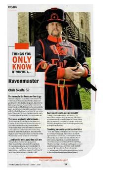 Ravenmaster - Tower of London