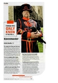 Ravenmaster - Tower of London