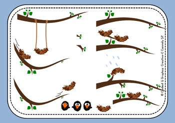 Ravens Playground - Bird Clip art - Commercial Use {Creative-C}