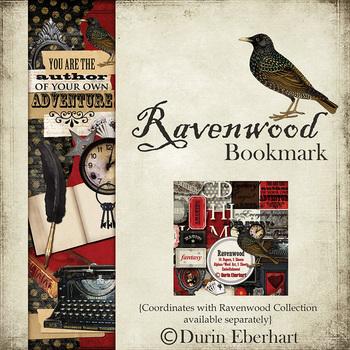 Ravenwood Printable Digital Bookmark