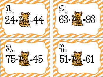 Rawr'ing Base 10-Adding and Subtracting Multiples of 10