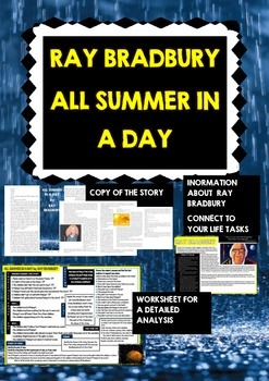 Ray Bradbury - All Summer in a Day