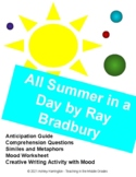 Ray Bradbury All Summer in a Day - Science Fiction Short Story