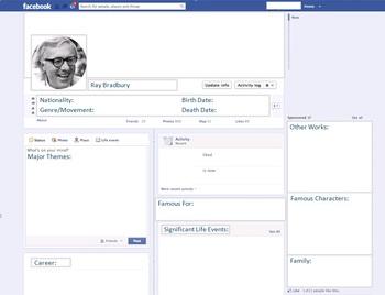 Ray Bradbury - Author Study - Profile and Social Media