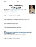 Ray Bradbury Author Webquest