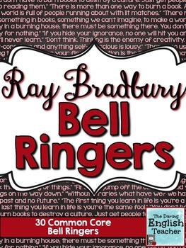 Ray Bradbury Common Core Bell Ringers