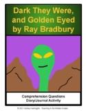 Ray Bradbury Dark They Were and Golden Eyed - Science Fict