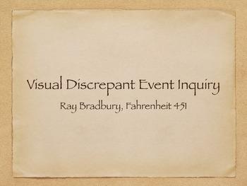 Ray Bradbury, Fahrenheit 451: Visual Discrepant Event Inquiry