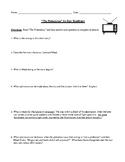 "Ray Bradbury: ""The Pedestrian"" Worksheet (or Test) with De"