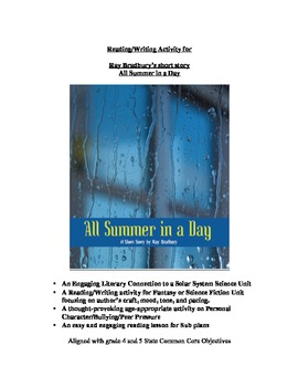 Ray Bradbury's All Summer in a Day: Lessons for Science, Literature & Character