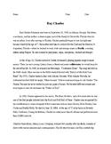 Ray Charles Biography