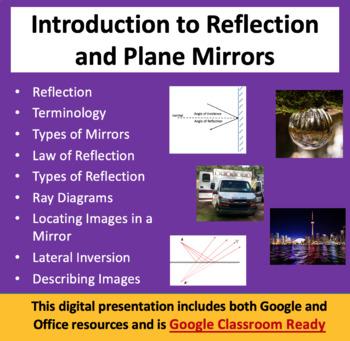 Ray Diagrams, Reflection and Plane Mirrors - Optics PowerP