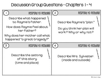 Raymie Nightingale Discussion Group Questions