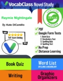Raymie Nightingale Novel Study Guide PDF | READING QUIZ |