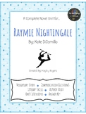 Raymie Nightingale Novel Unit
