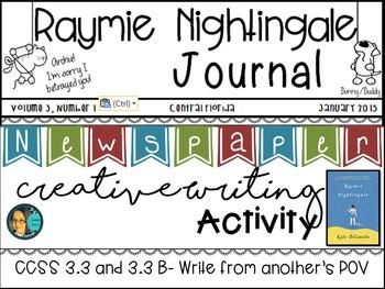 Raymie Nightingale - Kate DiCamillo - Creative Writing Newspaper