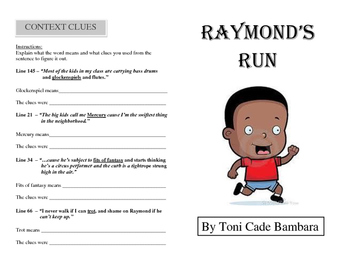 Raymond's Run - Booklet