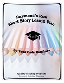Lesson: Raymond's Run Lesson Plan, worksheets, key, powerp