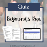 Raymond's Run Quiz