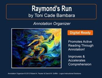 """Raymond's Run"" by Toni Cade Bambara: Annotation Organizer"