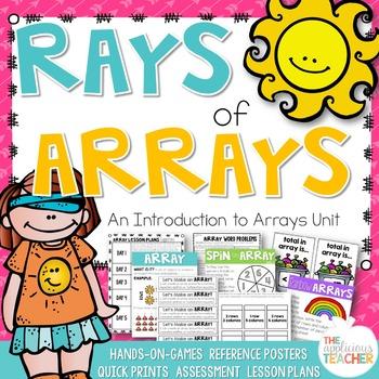 Arrays Activities Teaching Array Lesson Plans
