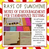 Rays of Sunshine: Notes of Encouragement for Standardized Testing