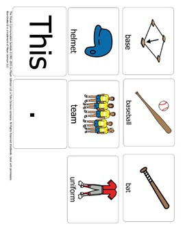 "Raz Kids: AA: ""The Baseball Game"" Word Study"