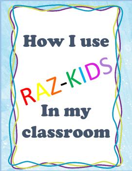 Raz-Kids: How I Use It in My Classroom
