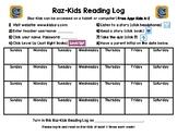 Raz-Kids Reading Log for the MONTH