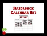 Razorback Calendar Set