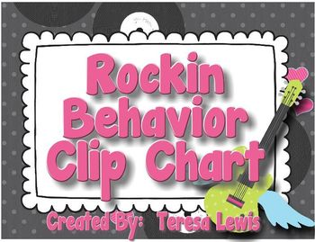 Rockin' Behavior Clip Chart