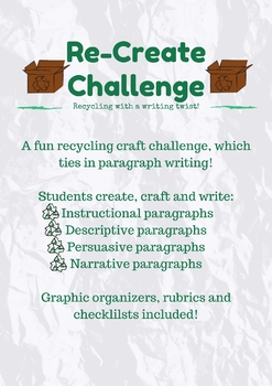 Re-Create Challenge (Creative Paragraph Lessons & Assessments)