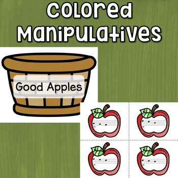 Re Interactive Melody Game and Manipulatives {Rotten Apples!}