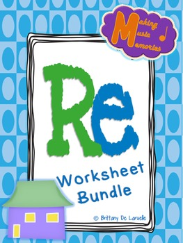 Re Worksheet Bundle